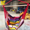 Rainbow Hammock Chair with Cotton Pillow