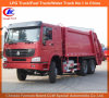 HOWO 6X4 8tons 10tons 쓰레기 쓰레기 압축 분쇄기 트럭