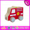 Children、Kids、Hot Sale Wooden Toys Fire Truck W04A109のためのMini Wooden Fire Truck Toyのための2015年のExqusite Wooden Educational Toys