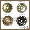 다이아몬드 Cup Grinding Wheel 또는 터보 Cup Wheel/Single Row Cup Wheel