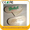 Umweltfreundliches kundenspezifisches Firmenzeichen hölzernes USB-Blitz-Laufwerk (EW601)
