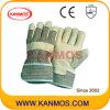 Желтый Свинья кожа с промышленной безопасности Рабочие перчатки (22001)