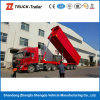 3 차축 60t Dump Trailers End Dump Semi Trailer