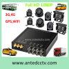 4/8 Sistemas de Monitoreo de canal de seguridad del vehículo 1080P con DVR portátil y Seguimiento de Vigilancia CCTV cámara y GPS