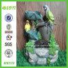 L'eau Feature Decoration avec Parrots Standing (NF82173)