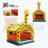 Castillo inflable de la casa Moonwalk/Jumping de la gorila de la jirafa (CH-IB3006)