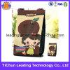 Modificado para requisitos particulares impreso levantarse el bolso sellado trasero del alimento del papel de Kraft