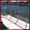 Tempered Glass (DMS-B2115)를 가진 옥외 갑판 Handrail