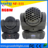 소형 36*3W 크리 말 LED Moving Head Beam Stage Light