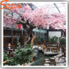 China Wholesales Outdoor Artificial Fake Plastic Cherry Blossom Tree