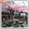 La Cina comercia l'albero all'ingrosso di plastica falso artificiale esterno del fiore di ciliegia
