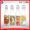 bottiglia di vetro del latte dell'acqua della spremuta di 1L 1000ml con il coperchio ermetico
