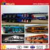 공기 Suspension 40ft Carbon Steel Semi Flatbed Container Trailer