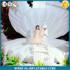 Coperture gonfiabili giganti della fase personalizzate decorazione LED di cerimonia nuziale della fase del partito