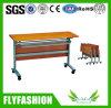 Faltendes Wooden Training Desk mit Wheels (SF-05F)