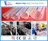 Новый подгонянный шланг стального провода PVC усиленный делая машину