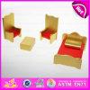 2015 공상 Happy Play Miniature Wooden Dollhouse Furniture Toy, Children W06b027를 위한 New Design Wooden Dollhouse Furniture Toys