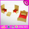 2015 Happy operato Play Miniature Wooden Dollhouse Furniture Toy, New Design Wooden Dollhouse Furniture Toys per Children W06b027