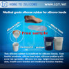 Makingの靴の中敷のための皮SafeおよびMedical Grade Silicone Rubber