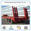 中国の製造者の半3つの車軸トラックのトレーラーのLowbedのトレーラー