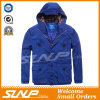 Вскользь сверхразмерный с капюшоном синий пиджак для людей