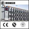 Portas telescópicas automáticas da liga de alumínio do fornecedor de China para escolas e fábricas