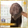 cabelo brasileiro do Virgin das perucas frontais do cabelo humano do laço 7A em linha reta