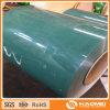 Feuille en aluminium enduite de toiture de couleur