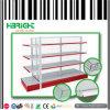 Maschendraht-Rückplatten-Einzelhandelsgeschäft-Doppeltes versah Fach-Zahnstangen mit Seiten