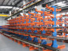 Cremalheira Cantilever do armazenamento do armazém para materiais irregulares
