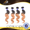 Two Color Virgin Indian Human Hair Weaves Body Wave