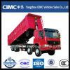 camion à benne basculante de moteur diesel de 8X4 HOWO LHD