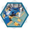 Fjx-0.15-4X1300 Hydraulische Besnoeiing aan de Lijn van de Lengte