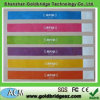 RFID Waterproof y Damproof Mifare 13.56MHz One-off Colorful Paper Wristbands Tag