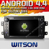 鈴木Sx4 (W2-A7072)のためのWitson Android 4.4 System Car DVD
