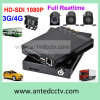 GPSのHD 1080P 3G/4G 4 Channel Vehicle Surveillance Camera System