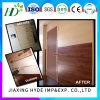 Светлые деревянные панели стены PVC цвета 250*8mm прокатанные