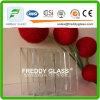 la glace de flotteur ultra claire de la qualité 6mmtop/repassent bas glace en verre/claire