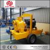 De diesel Pomp van het Water voor de Mijnbouw van de Irrigatie met twee-Wiel Aanhangwagen