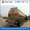 Roestvrij staal en Oil Tankwagen Semi Trailer