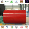 Color Coated Aluminum Coil en Alloy 1100 3003-PVDF-Chinese Red