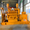 Générateur triphasé de gaz de gazéification de biomasse à C.A. de refroidissement par eau