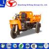 O transporte/carga do triciclo da mina/carreg para o descarregador da mineração do veículo com rodas de 500kg -3tons três com cabine