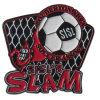 주문을 받아서 만드십시오 금속 축구 그랜드 슬램 로고 접어젖힌 옷깃 Pin (xd-061)를