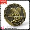 Новая монетка Chanllenge металла логоса промотирования 3D Ковбо-Западная