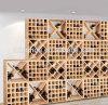 Estante de visualización del vino del precio al por mayor para el sótano/el supermercado