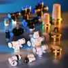 Instalación de tuberías neumática de aire del conector rápido para el manguito de aire