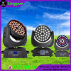 feixe principal movente do diodo emissor de luz do zoom de 36X10W RGBW 4in1