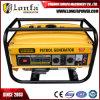 generatore silenzioso raffreddato ad aria della benzina di 2.6kVA 7HP