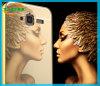 El lujo electrochapa la caja del teléfono de la contraportada de la opinión del espejo para Huawei Mate9
